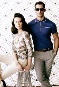 When wearing a polo, it must be slim. Stick to blue and black, and pair it with well-tailored pants.