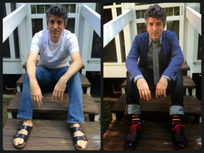 STYLE-UP: BEFORE and AFTER