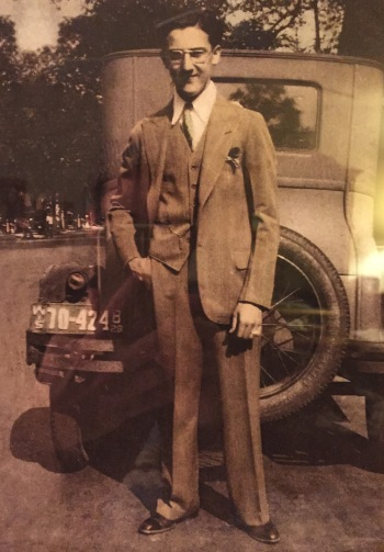 My grandfather: would've been buried in a box-backed suit, straight laced shoes and a Stetson hat if traditional Jewish law allowed it.