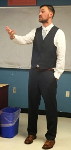 lecturing guy