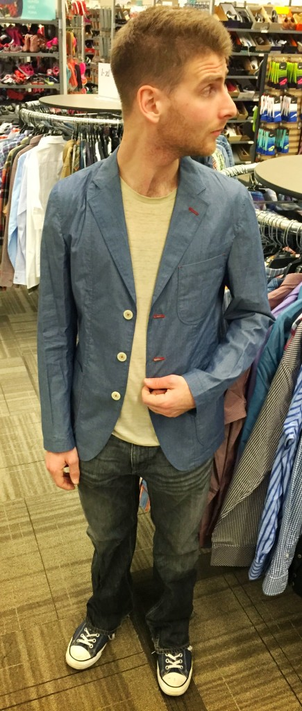 Hybrid Casual / Classy: Unstructured Blazer